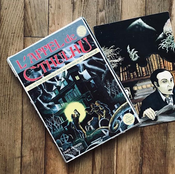 Appel de Cthulhu 1er édition française 1984